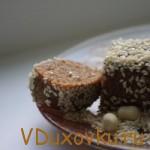 Вегетарианские рецепты: Видеорецепт — Халва (сыроедческий рецепт)