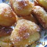 Вегетарианский рецепт: Видеорецепт Печенья с творогом