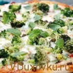 Вегетарианский рецепт: Видеорецепт Пиццы с брокколи