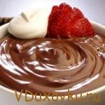 Вегетарианские рецепты: Шоколадный мусс