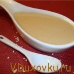 Тахина (как приготовить кунжутную пасту)