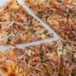 Вегетарианский рецепт: Видеорецепт тонкой пиццы с овощами