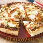 Вегетарианский рецепт: Видеорецепт Пицца вегетарианская