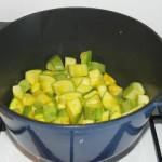 Вегетарианские рецепты: Кабачки в молоке