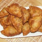 Вегетарианские рецепты : Самосы (пирожки с овощами)