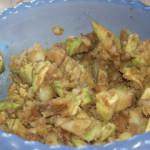Вегетарианские рецепты: Салат из авокадо и картофеля