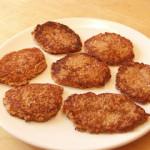 Вегетарианские рецепты: Оладьи из пророщенной пшеницы с творогом