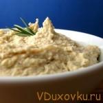 Вегетарианские рецепты: Миндальный хумус