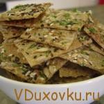 Вегетарианские рецепты: Сыроедческие хлебцы
