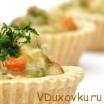 Вегетарианские рецепты: Овощные тарталетки