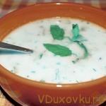 Вегетарианские рецепты: Армянский кисломолочный суп «Спас»