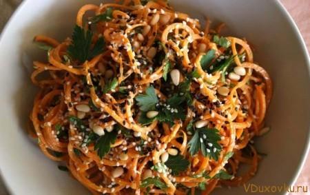 сыроедческая морковная паста