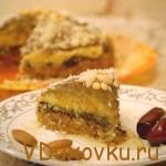 Вегетарианские и сыроедческие рецепты: Сыроедческий торт «Миндально-финиковая радость»
