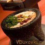 Вегетарианские рецепты: Сырно-грибное фондю