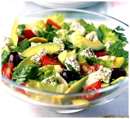 Овощные салаты  199 рецептов с фото