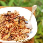 Маджадра — чечевица с рисом, луком и специями / Веганские и вегетарианские рецепты