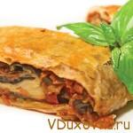 Овощной штрудель / Вегетарианские рецепты