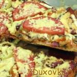 Вегетарианские рецепты: Пицца на лаваше