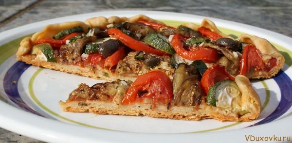 веганский овощной пирог
