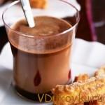 веганский горячий шоколад
