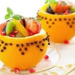 Вегетарианские и сыроедческие рецепты / Фруктовый салат в апельсине