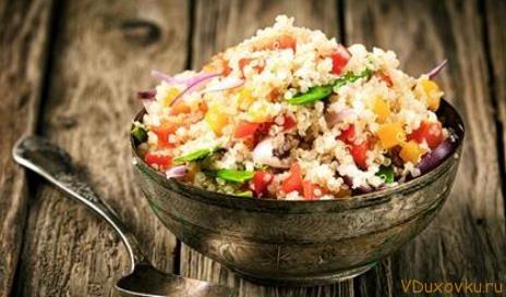 плов овощной с рисом рецепт с фото
