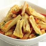 Вегетарианские и веганские рецепты / Соевая спаржа по-корейски