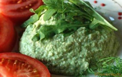 сыроедческий паштет из пророщенной гречки и авокадо