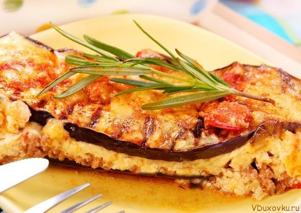 веганская запеканка из кабачков с помидорами