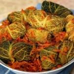 Вегетарианские голубцы в савойской капусте / Вегетарианские рецепты