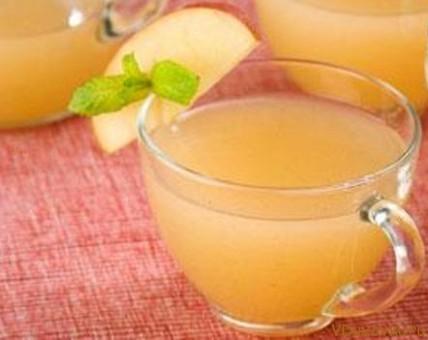 яблочно мандариновый напиток