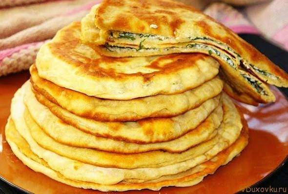 лепешки с сыром и зеленью рецепт