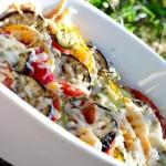 Овощи по-средиземноморски запеченные в духовке / Вегетарианские рецепты