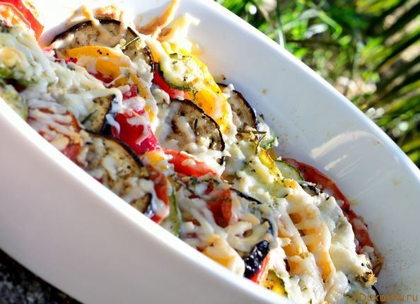 овощи по-средиземноморски запеченные в духовке